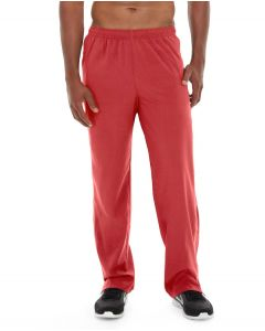Geo Insulated Jogging Pant-32-Red